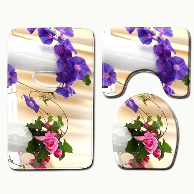 Kúpeľnová predložka Flora (PR00016)