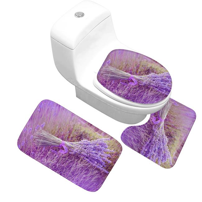 Kúpeľnová predložka Levandula 2 (PR00014)
