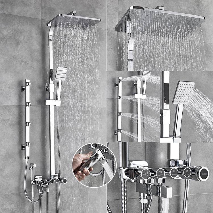Masážny sprchový set UYTHER (U-190013)