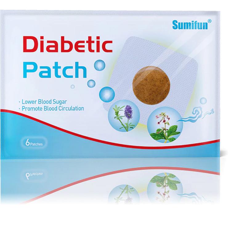 Diabetická náplasť 6 ks SUMIFUN 1 (IM-DI1809)