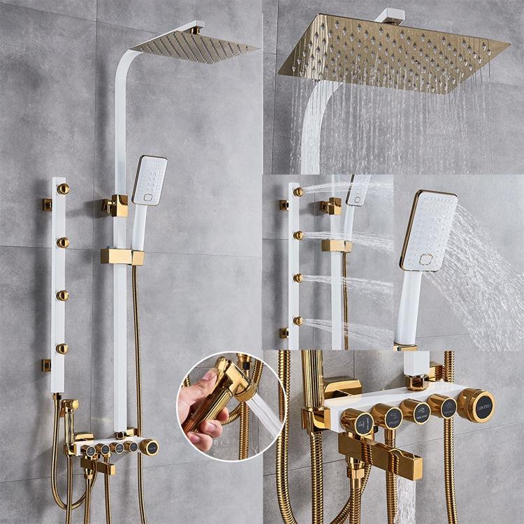 Masážny sprchový set UYTHER (U-190012)