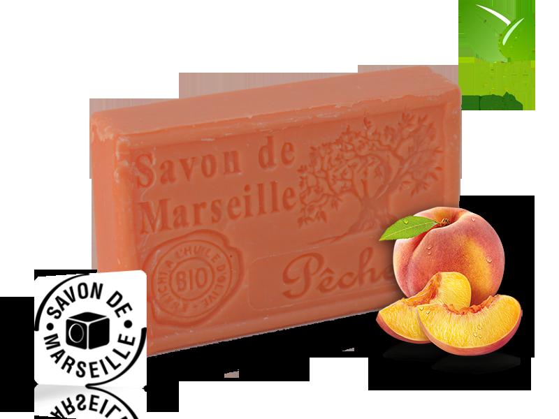 Marseille mydlo Broskyňa (000013)