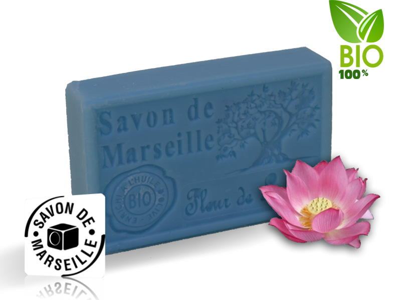Marseille mydlo Lotosový kvet (000009)