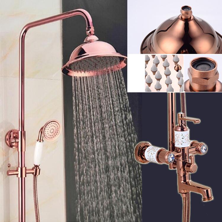 Sprchový set ružové zlato KADYOS1  ()